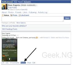 cortana take me to my facebook page how to delete all posts on facebook timeline automatically