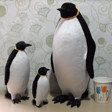 taxidermy home decor 1 x fake artificial penguin faux fur realistic taxidermy home