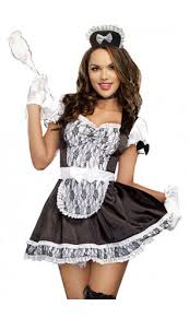 French Maid Halloween Costumes French Maid Costume Chamber Maid Costume Maid Costume