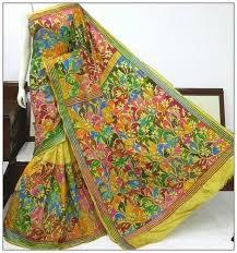 nakshi kantha silk nakshi kantha saree in bolpur west bengal nakshi kantha