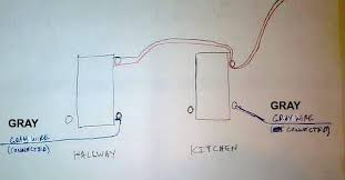 2 single pole switches on same circuit changing one to dimmer