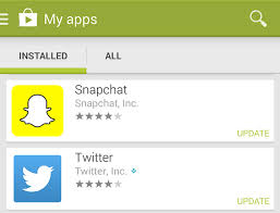 snapchat app for android on updating snapchat app on ios and android androidability