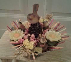 composizione di candele 30 best composizioni con fiori secchi di stoffa di legno e