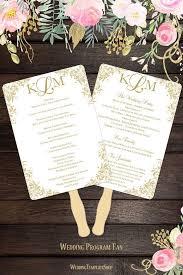 Paddle Fan Program Template 47 Best Wedding Program Fans Diy Printable Templates Images On
