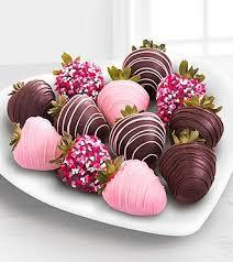 valentines chocolate half dozen gourmet dipped fancy strawberries chocolate