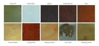 Stain Color Chart Concrete Coating Color Chart Color Gray Concrete Storm Shelter Directcolors Com