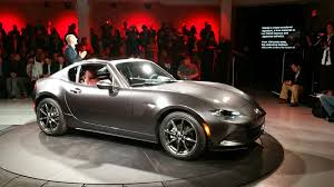 mazda automatic cars mazda mx 5 miata rf hardtop revealed looking damn car shows