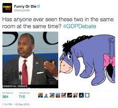 Ben Carson Meme - ben carson eeyore 2016 republican presidential primary know