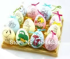 easter gifts for children children diy easter egg painted scrawl eggs kids