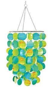 chandelier magnets amazon com wallpops wpc0330 10 5 inch diameter pearl blue green