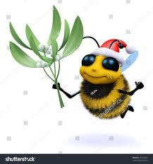 3d render cute honey bee dressed stock illustration 197372063