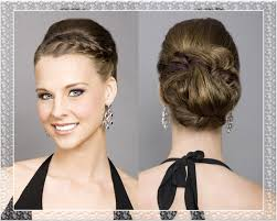 braided updo wedding hairstyles medium hair styles ideas 49013
