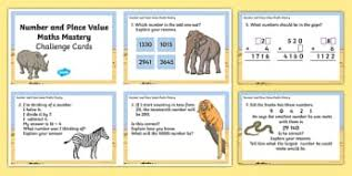 year 4 number and place value primary resources page 1