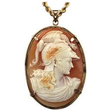 cameo gold necklace images Antique cameo gold locket necklace for sale at 1stdibs jpg