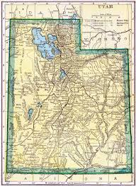Map Of Northern Utah by Utah Genealogy U2013 Access Genealogy