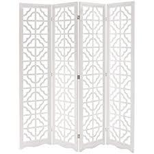 Room Divider Screens Amazon - amazon com mygift folding wood 4 panel screen moroccan cutout