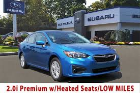 2017 subaru impreza sedan blue used 2017 subaru impreza for sale orangeburg ny