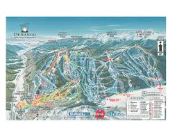 Colorado Ski Map by Purgatory Resort Mapofficial Tourism Site Of Durango Colorado