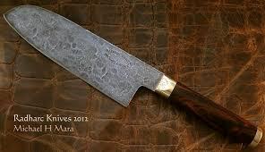 handmade kitchen knives custom handmade knives the cocobolo santoku