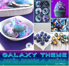the party ideas galaxy themed birthday party ideas