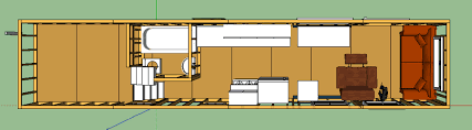 gooseneck tiny house floor plans wood floors