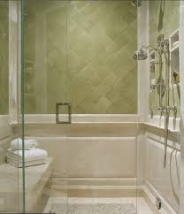 Showerroom Simple Soft Green Bathroom Decor With Shower Room And Green Wall