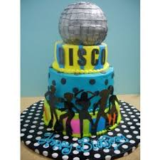Children S Birthday Cakes Disco Cake Children U0027s Birthday Cakes By Meeah On Cakecentr
