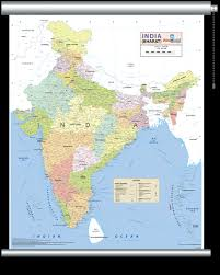 wall maps india wall map wall maps of india