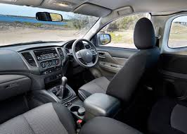mitsubishi triton 2012 interior 2015 mitsubishi triton review stronger quieter and not too big