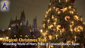 Universal Studios Christmas Ornaments - hogsmeade christmas tree inside universal studios japan u0027s