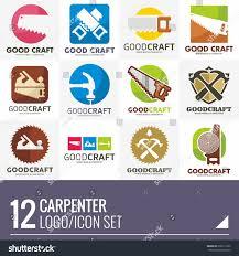 carpenter home builder logo vector set stock vector 632611232