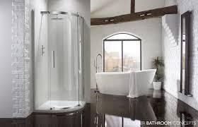 aquaglass designer 1 door 10mm quadrant shower enclosures dbca10dq