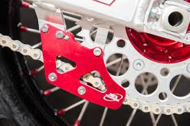 one of our chain guides fitted to a honda crf 250 r crf250r