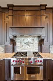 custom range hood and backsplash contemporary kitchen tampa