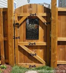 Wood Fence With Sliding Gate Garden Privacy Ideas Pinterest - Backyard gate designs