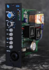 api 512v discrete mic line pre amp with level control kazbar systems