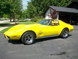 1976 corvette yellow 1976 corvette the color wanton wanter cars