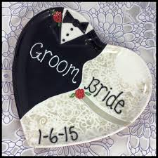 ceramic wedding plates new custom personalized ceramic wedding plate the