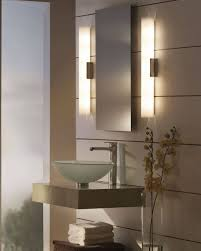 modern bathroom mirror lighting modern design ideas