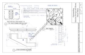 deck plans tub deck design plan free pdf