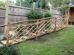 coppice creations rustic garden furniture and fencing from the