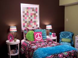 corner beside wooden window seat teenage bedroom color