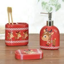 Bathroom Accessories Supplier by Ceramic Bathroom Set For Christmas Ceramic Bathroom Set For