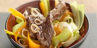cuisine au wok facile wok de boeuf aux légumes facile et pas cher recette sur cuisine