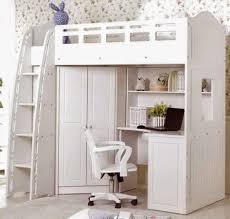 Bunk Bed With Study Table Loft Bed With Desk Ladder Study Desk Closet Wardrobe