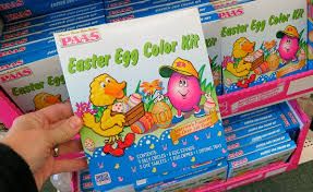 easter egg coloring kits mavis goes to the dollar store one hundred dollars a month