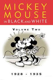 mickey mouse black white vol 1 disney movies