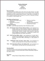 Air Force Resume Samples by Marketing Cv Examples Cv Templates Livecareer Cv Example Cv