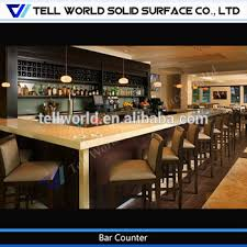 U Shaped Bar Table China Made U Shaped Luxury Wooden Bar Counter Cafe Bar Design