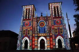 san fernando cathedral light show san antonio the saga main plaza